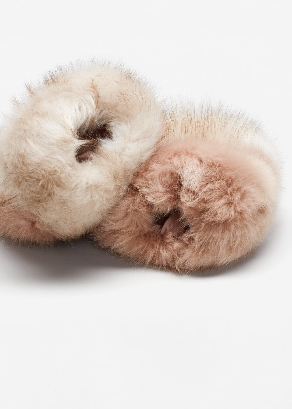 Fur zipped-cuff | MANGO