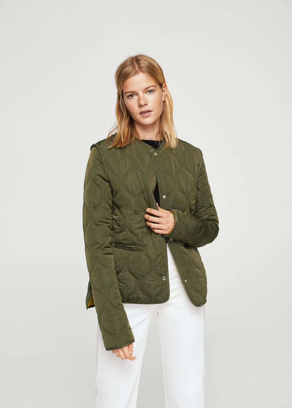 Quilted jacket | MANGO