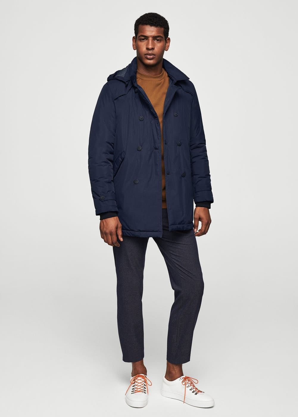 Trench impermeable nylon | MANGO MAN