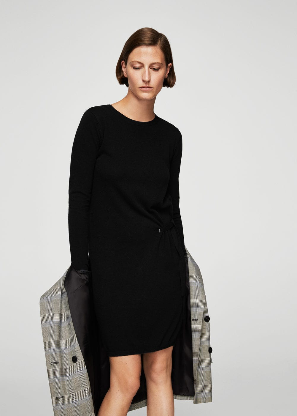 Knot knitted dress | MANGO
