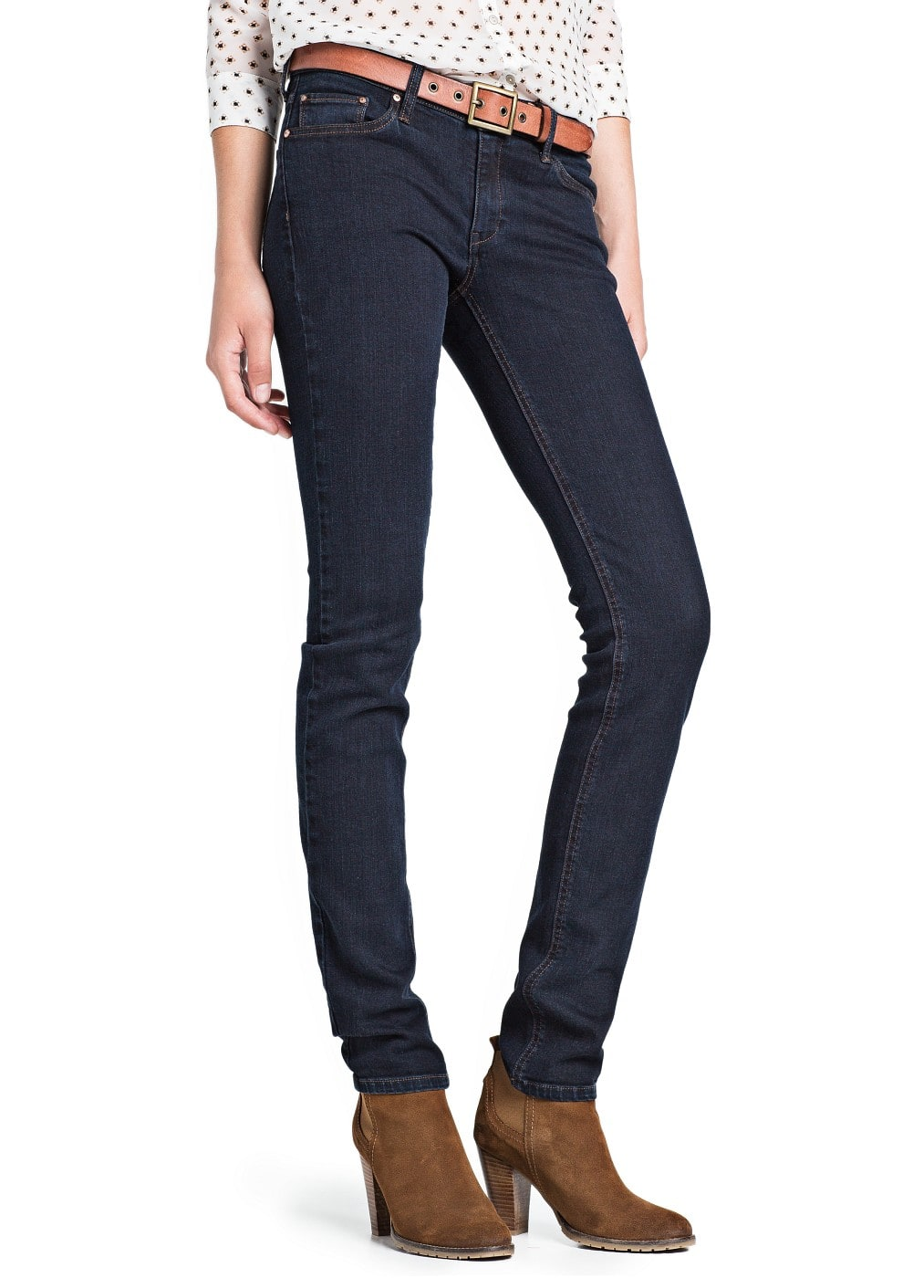 Slim-fit dark jeans | MANGO