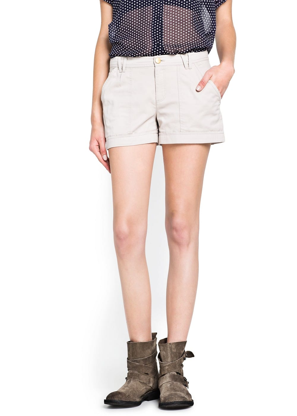 Cotton shorts | MNG