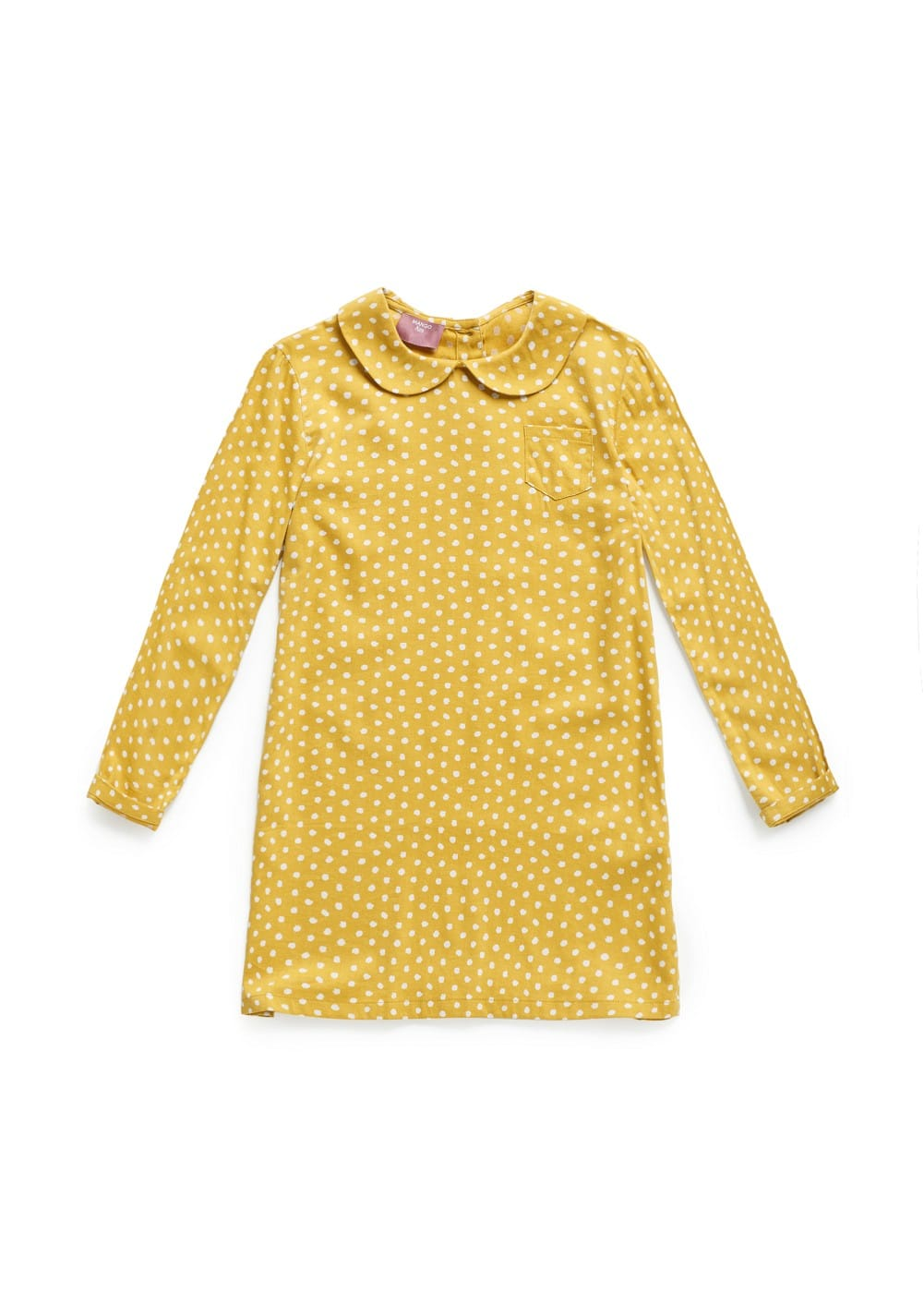 Polka-dot baby doll dress | MANGO KIDS