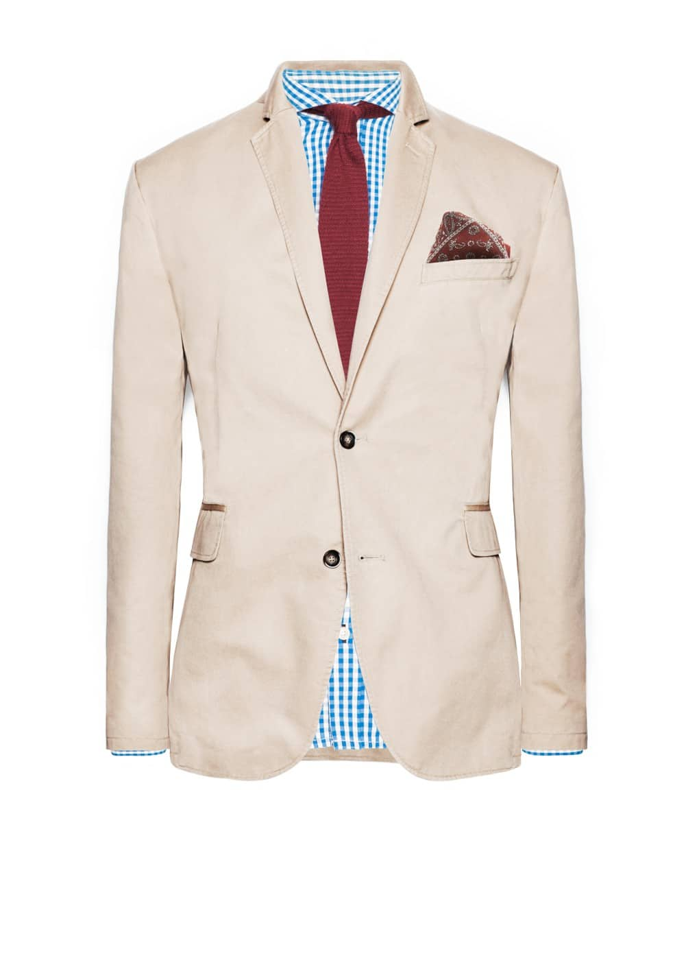 Cotton blazer | MANGO MAN