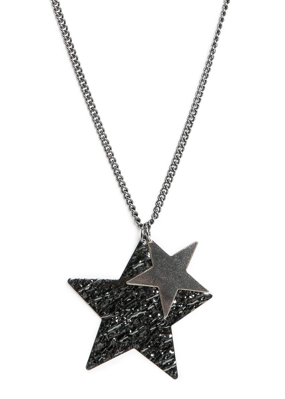 Star pendant long necklace | MANGO