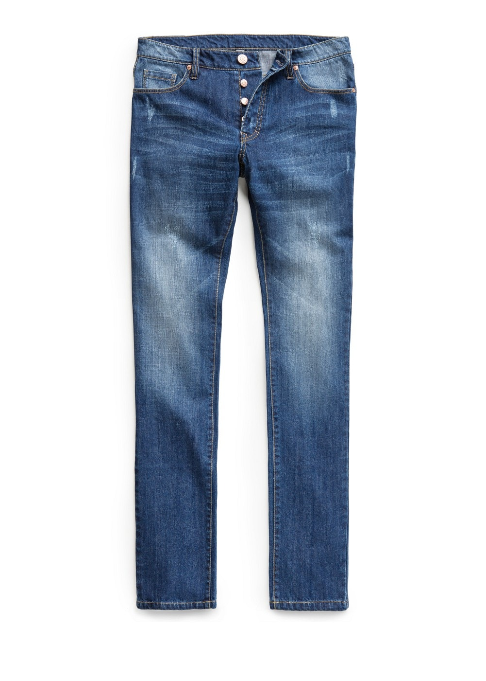 Slim-fit medium wash bob jeans | MANGO