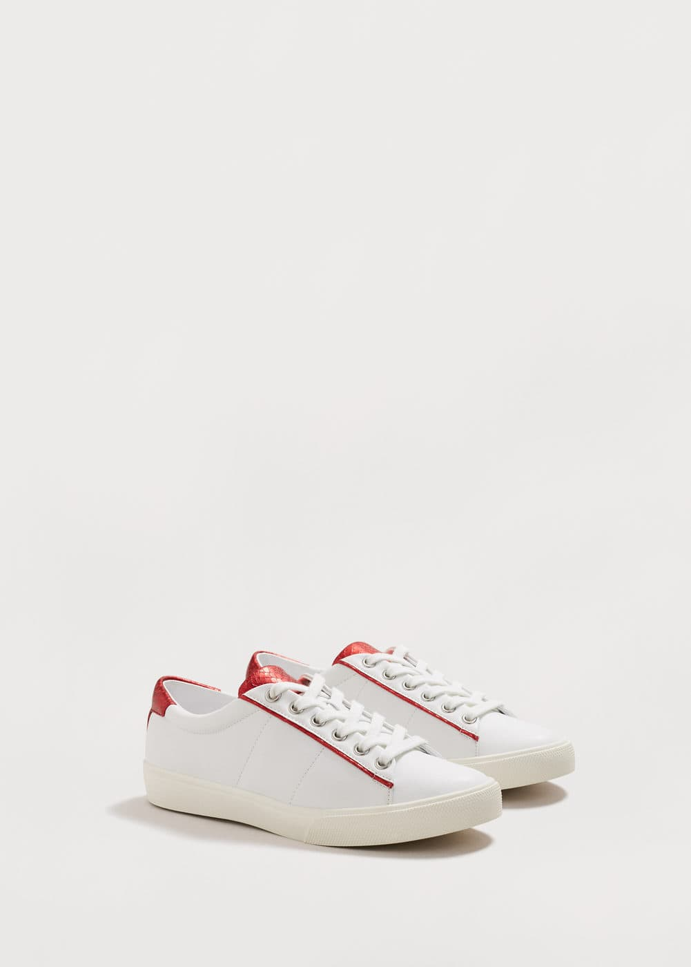Snake-effect sneakers | MANGO