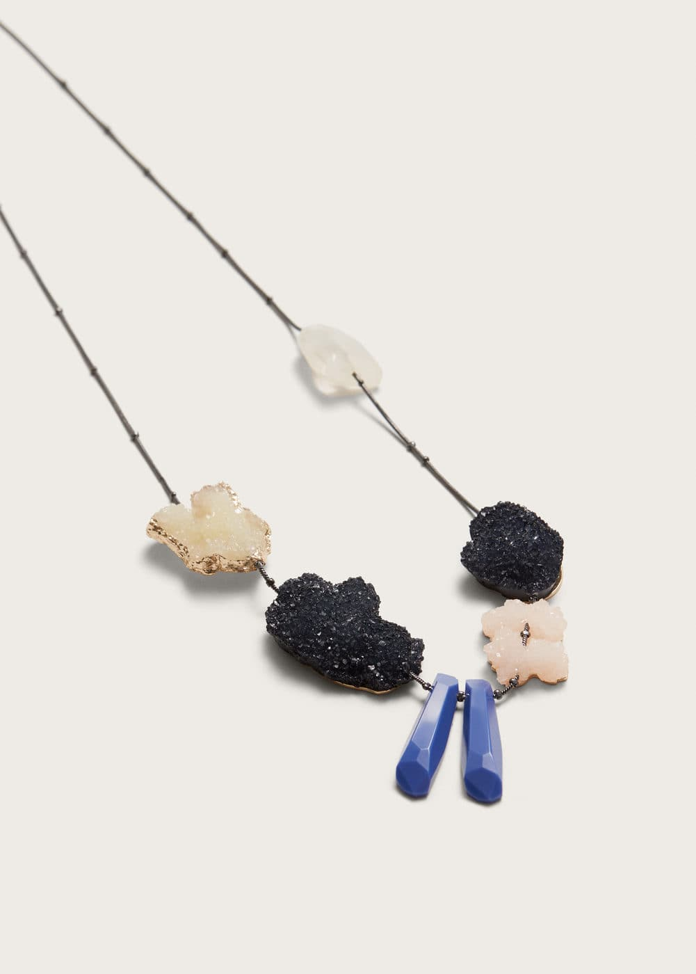 Mineral necklace | VIOLETA BY MANGO