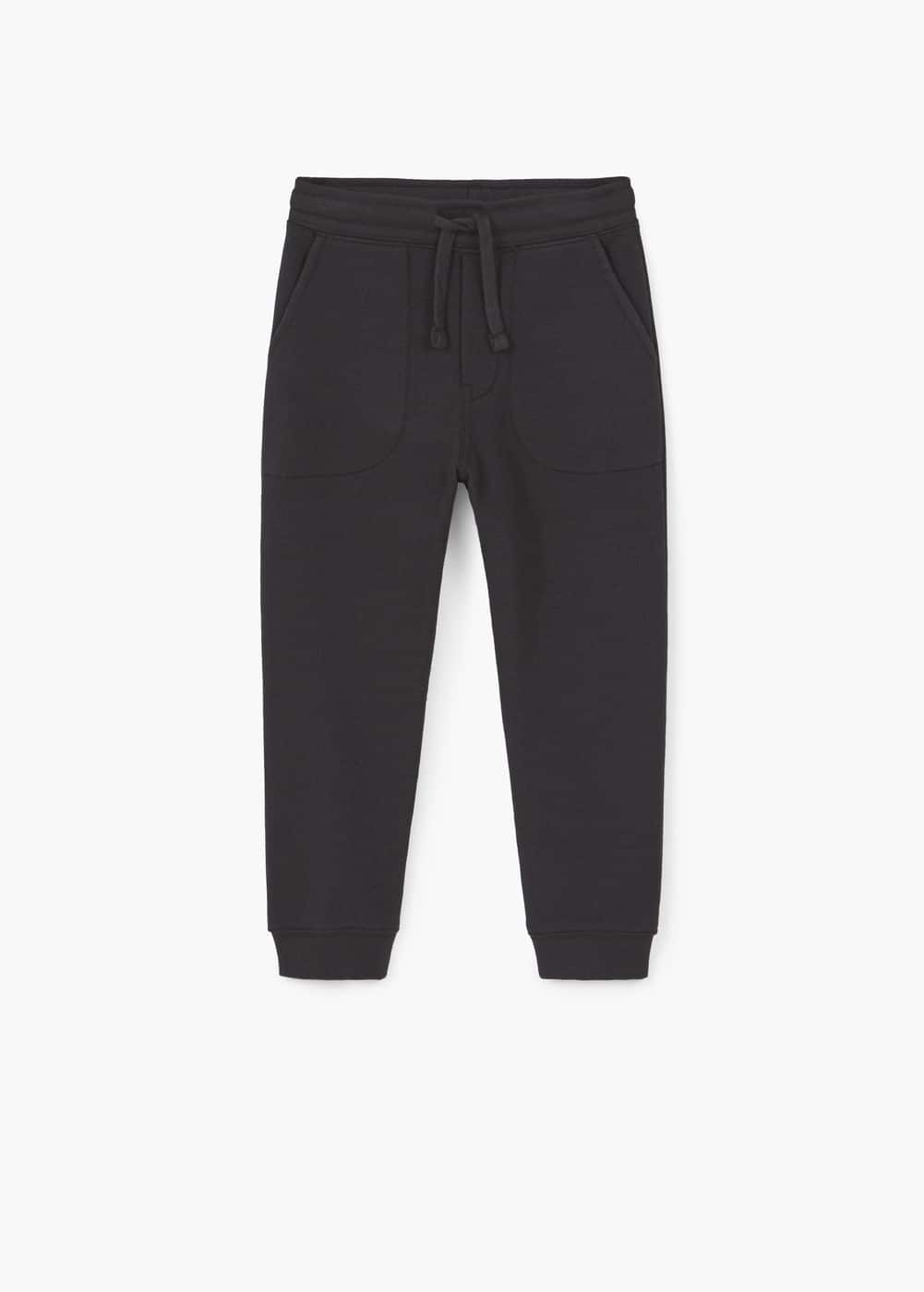 Textured jogging trousers | MANGO KIDS