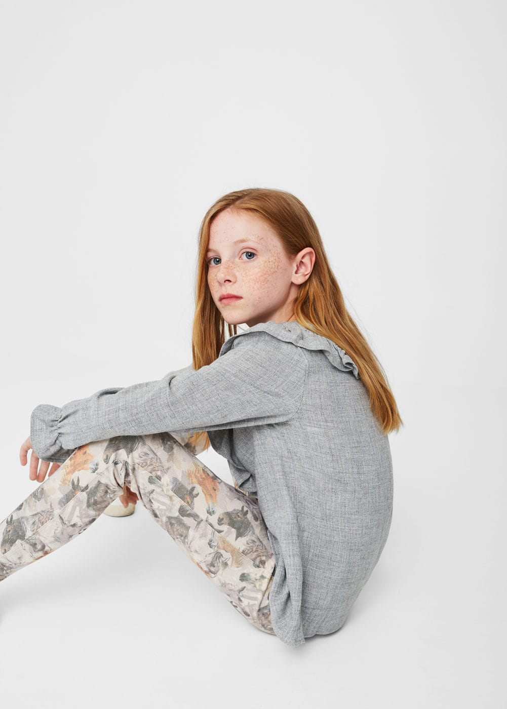 Leggings algodón estampados | MANGO KIDS