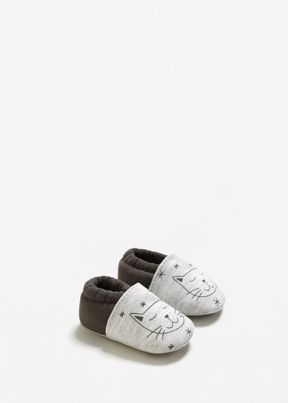 Cotton printed bootee | MANGO KIDS