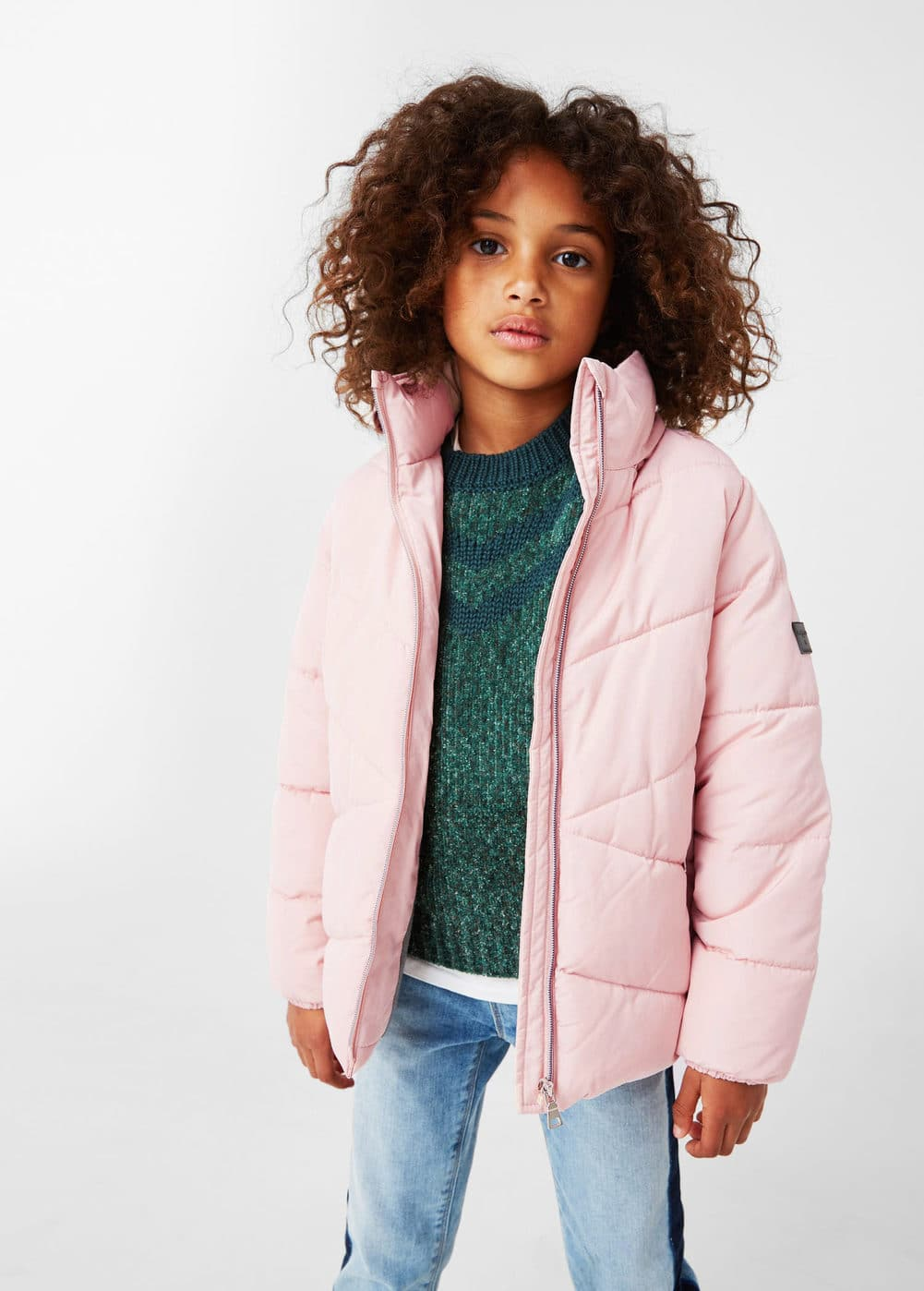 Water-repellent quilted coat | MANGO