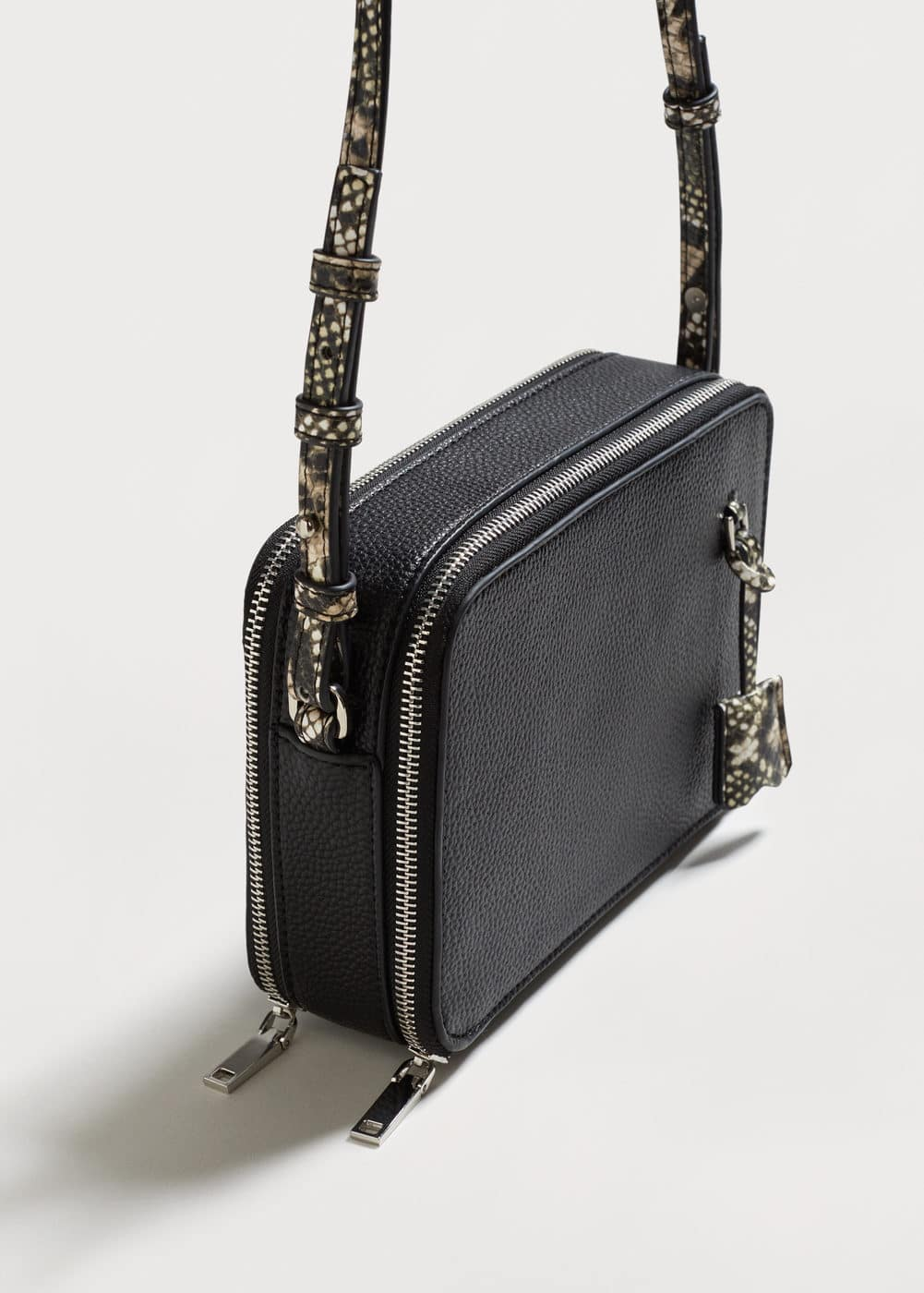 Double compartment cross body bag | MANGO