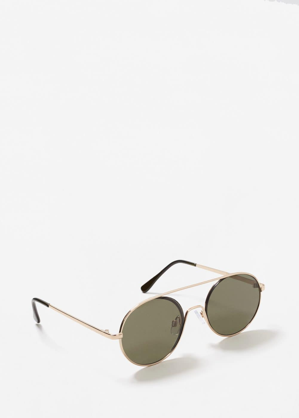Metal appliqué sunglasses | MANGO MAN
