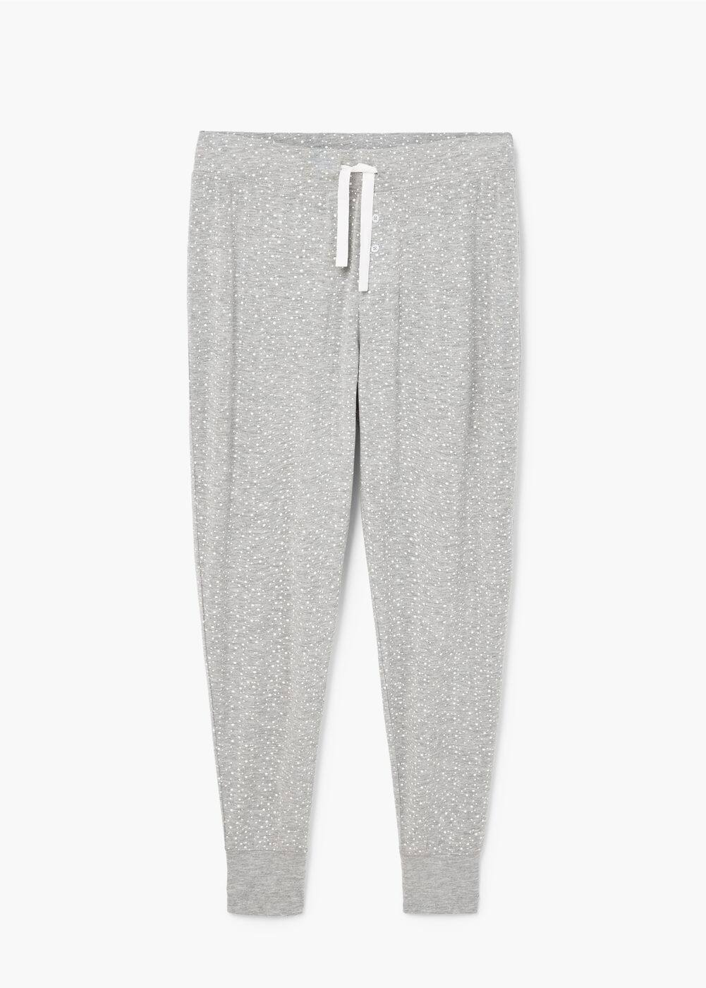 Printed jogging trousers | MANGO