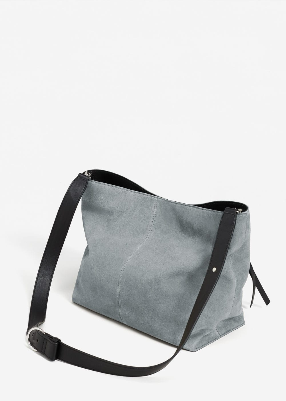 Leather pocket bag | MANGO