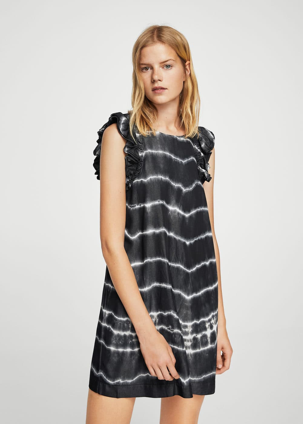 Tie dye print dress | MANGO