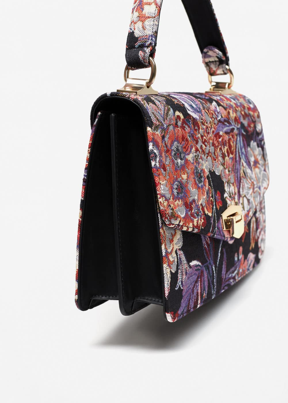 Buckle embroidered bag | MANGO