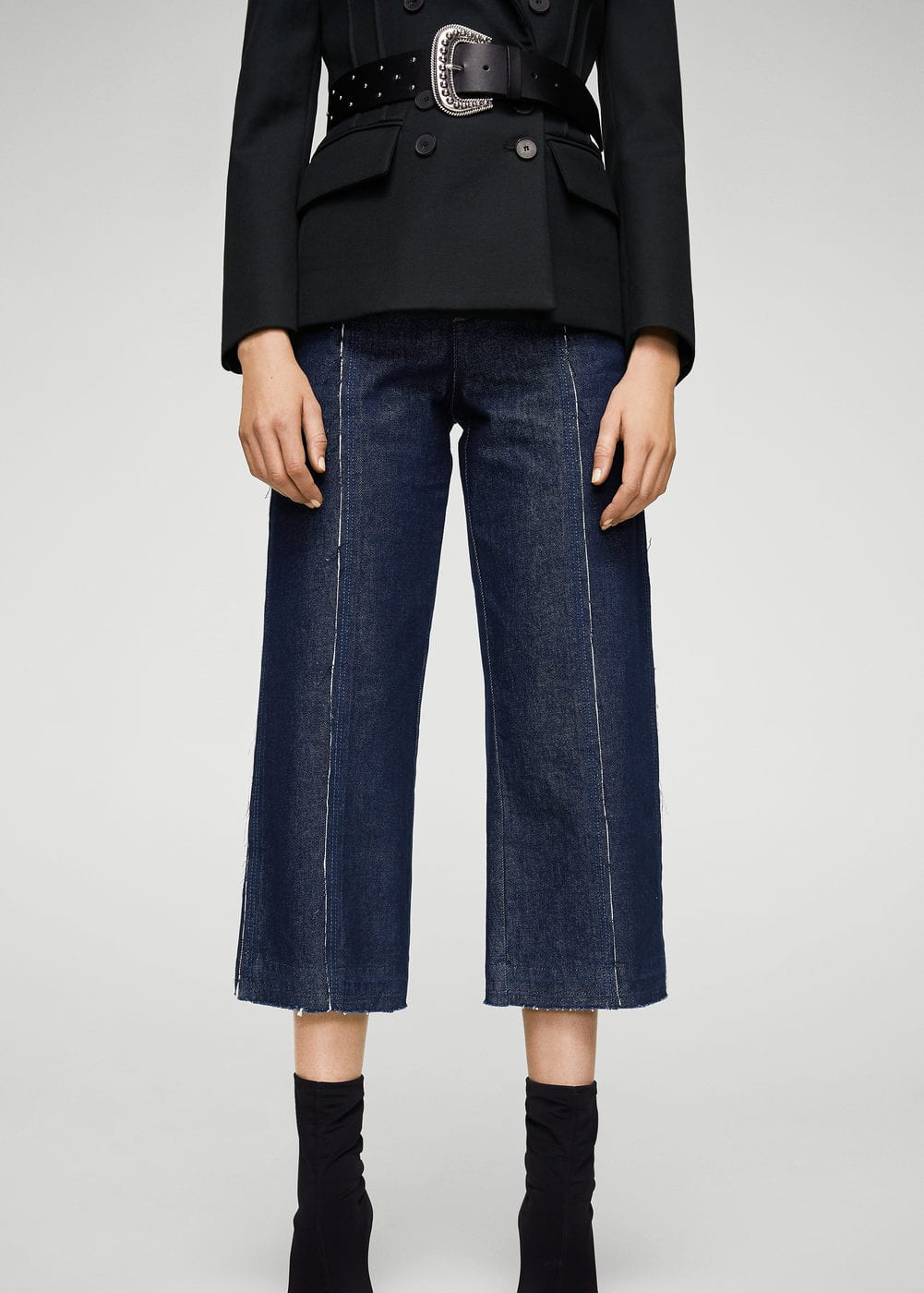 Jeans relaxed culotte | MANGO