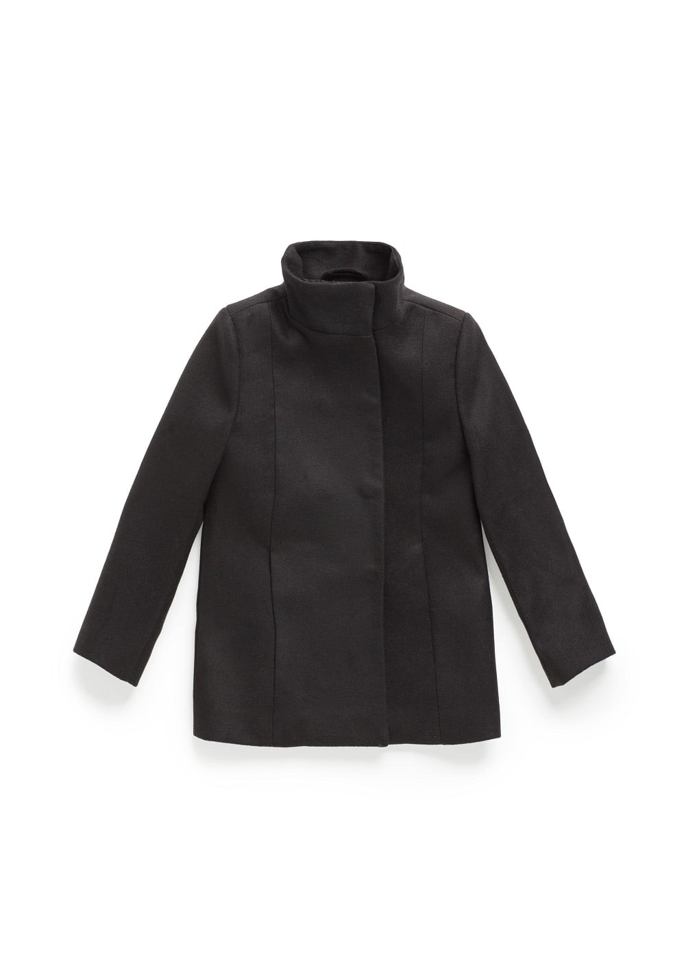 Funnel neckline coat | MANGO KIDS