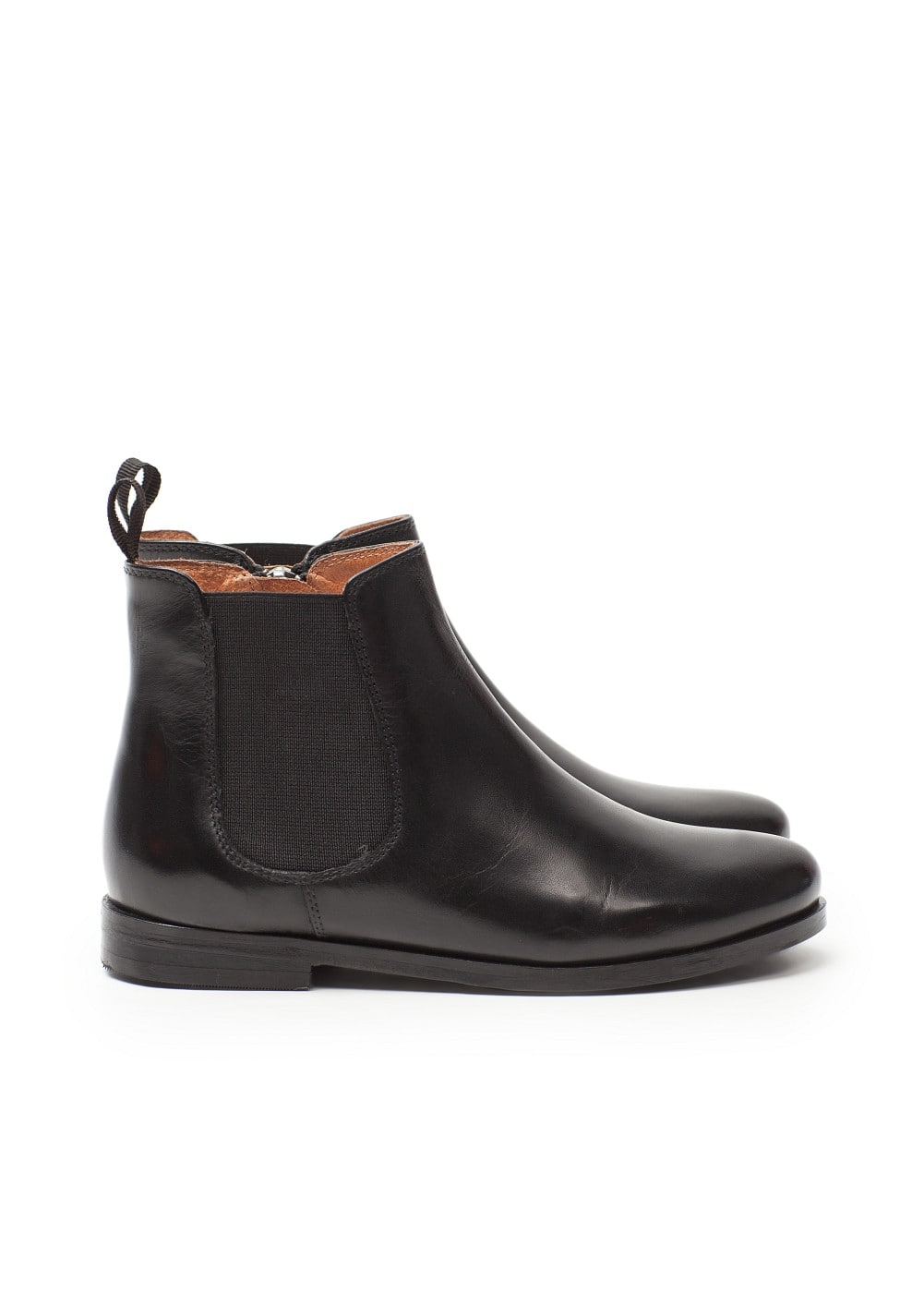 Leather chelsea ankle boots | MANGO KIDS