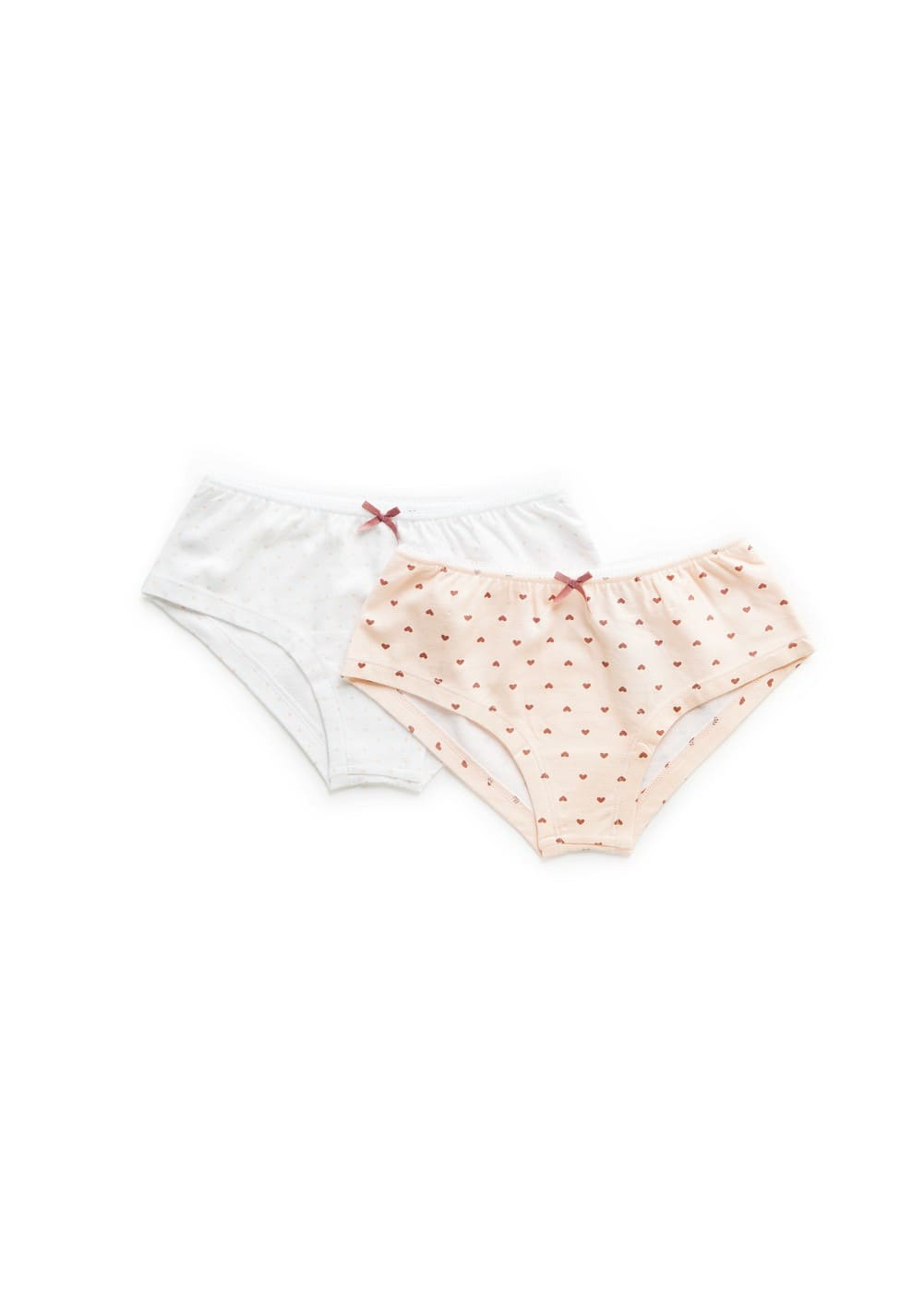 2 pack cotton panties | MANGO KIDS