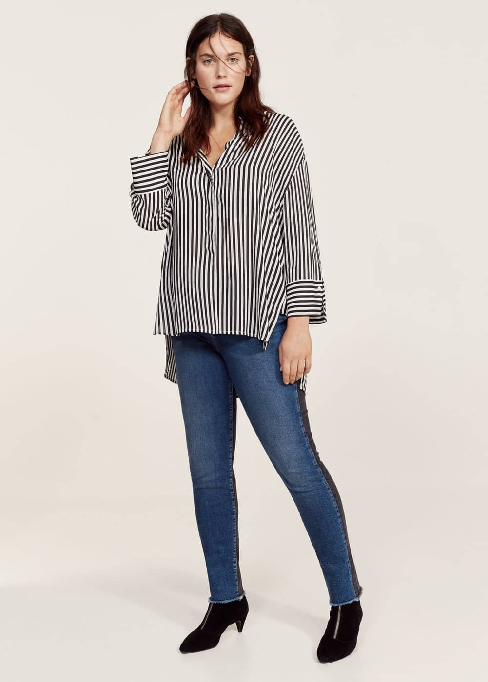 Combined super slim jeans | VIOLETA BY MANGO