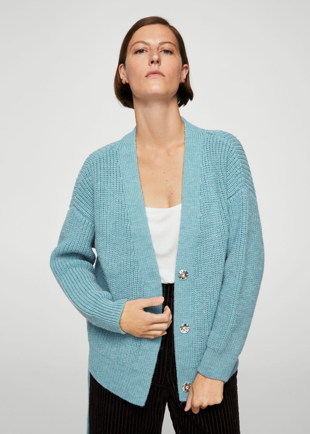 Belt cardigan | MANGO