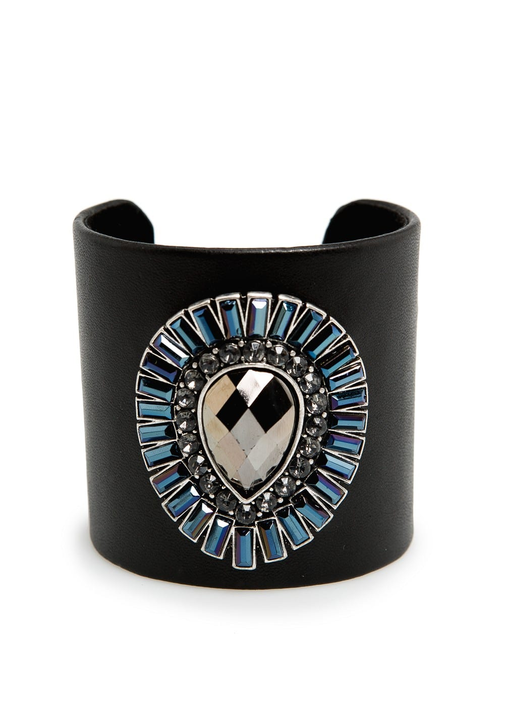 Crystals covered cuff | MANGO