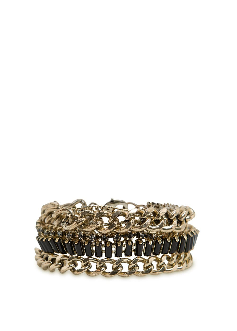 Multi-chains bracelet | MANGO
