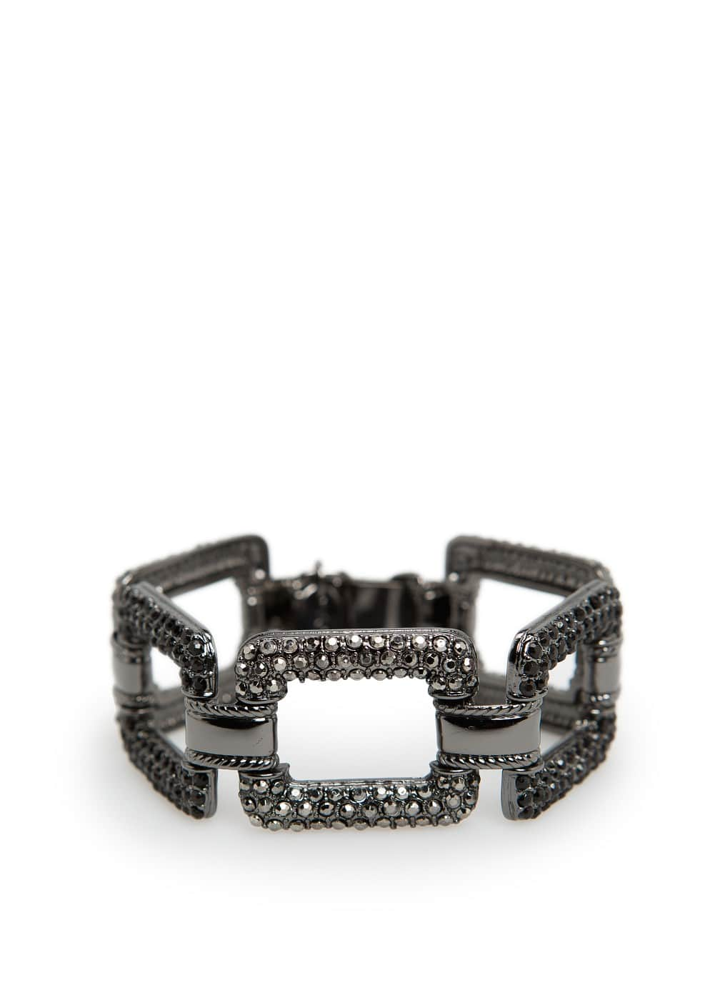 Strass links bracelet | MANGO