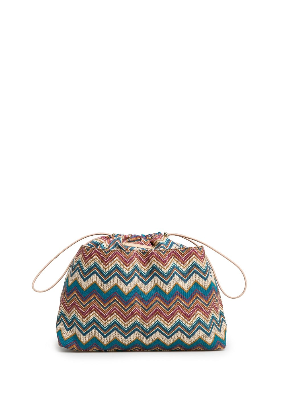 Ethnic print interior bag | MANGO