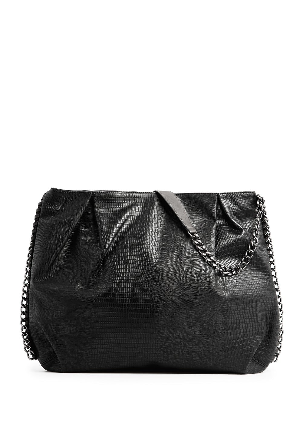 Bolso textura animal | MANGO