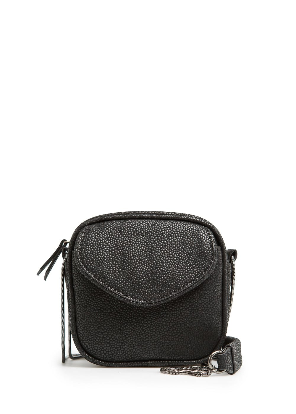 Snake textured mini bag | MANGO