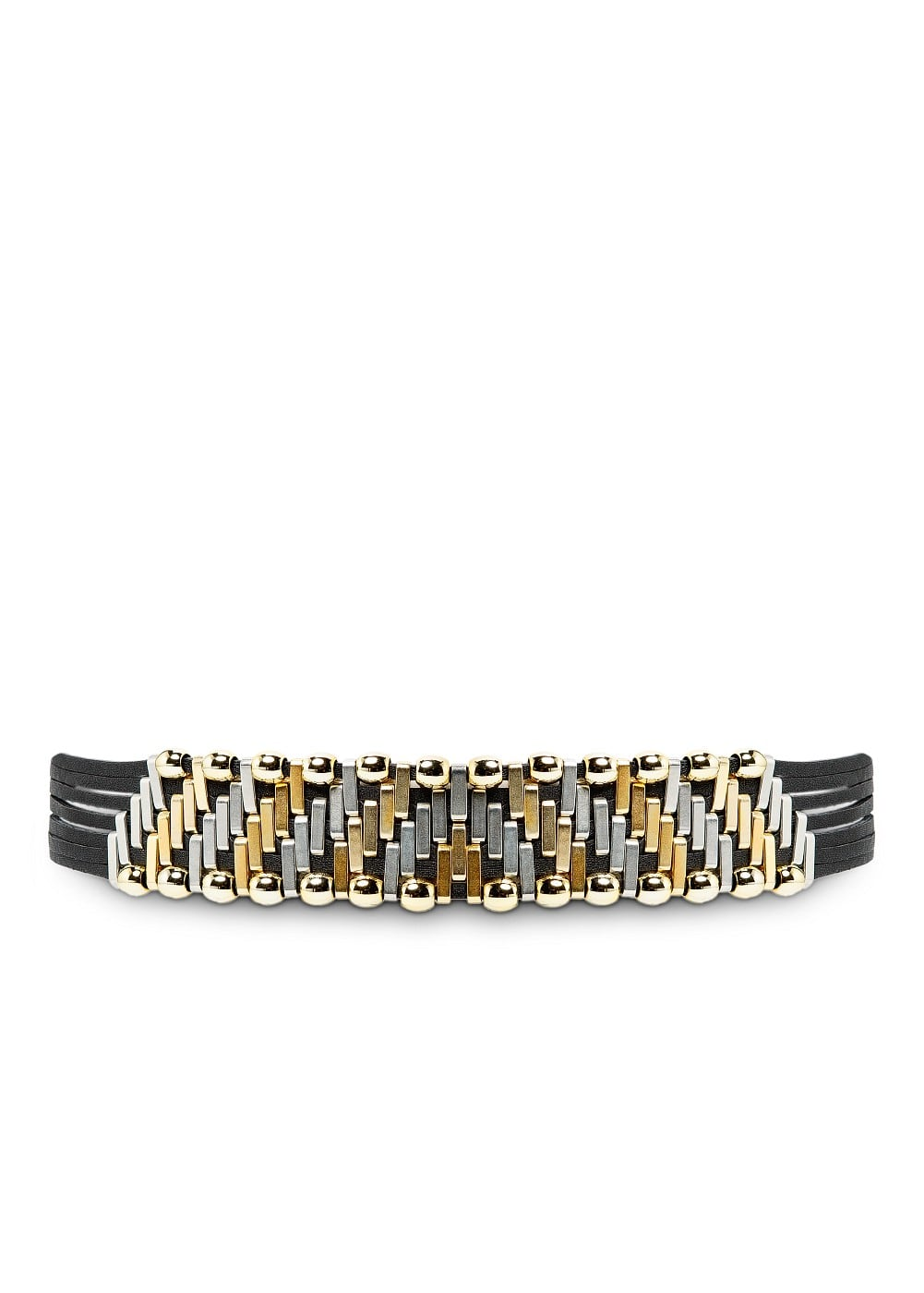 Metal embellished belt | MANGO