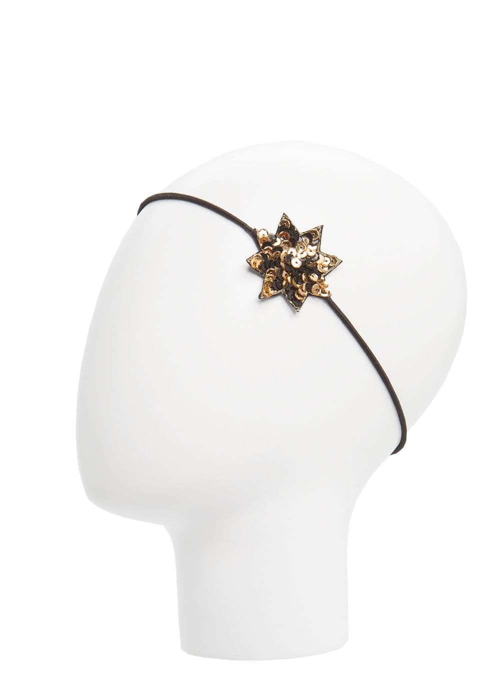 Sequined star hairband | MANGO