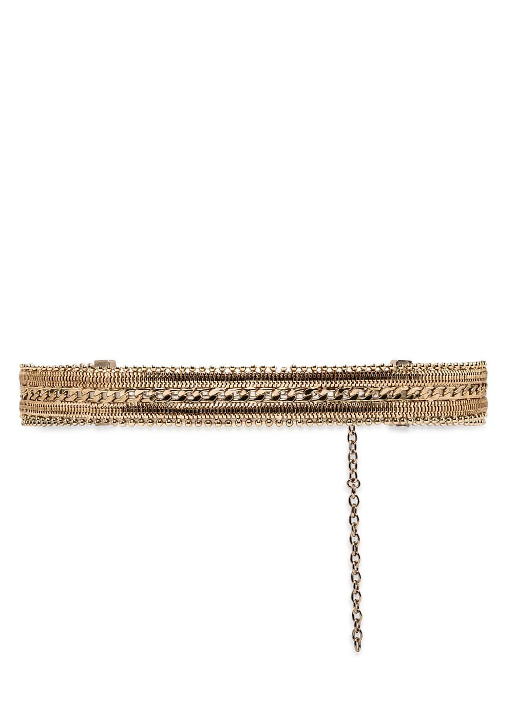 Chain metal belt | MANGO