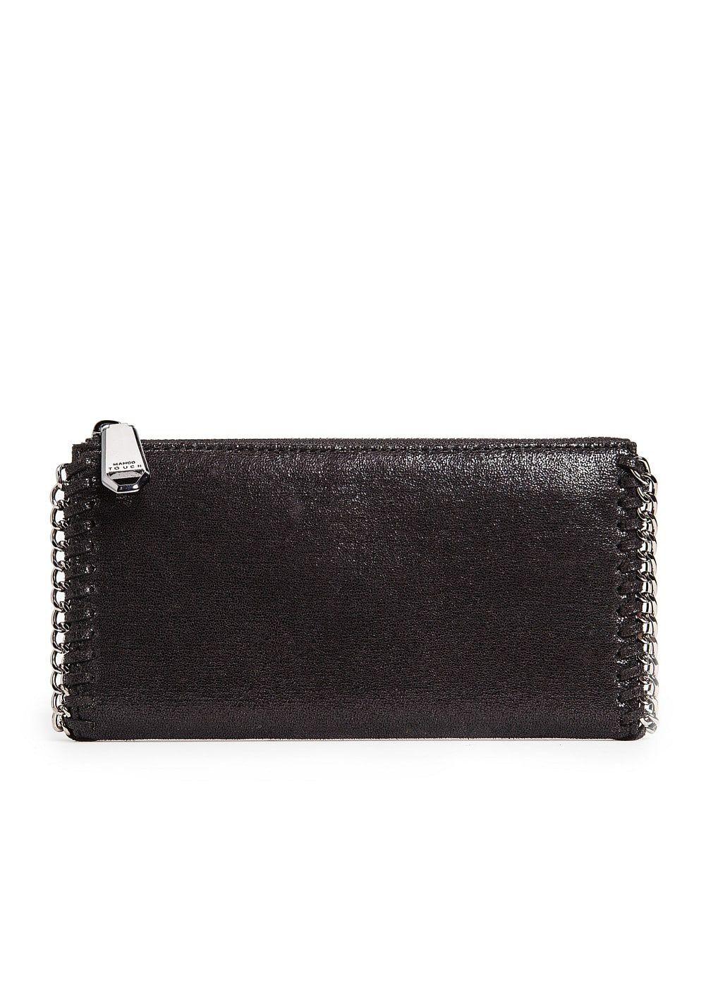 Chain metallic wallet | MANGO