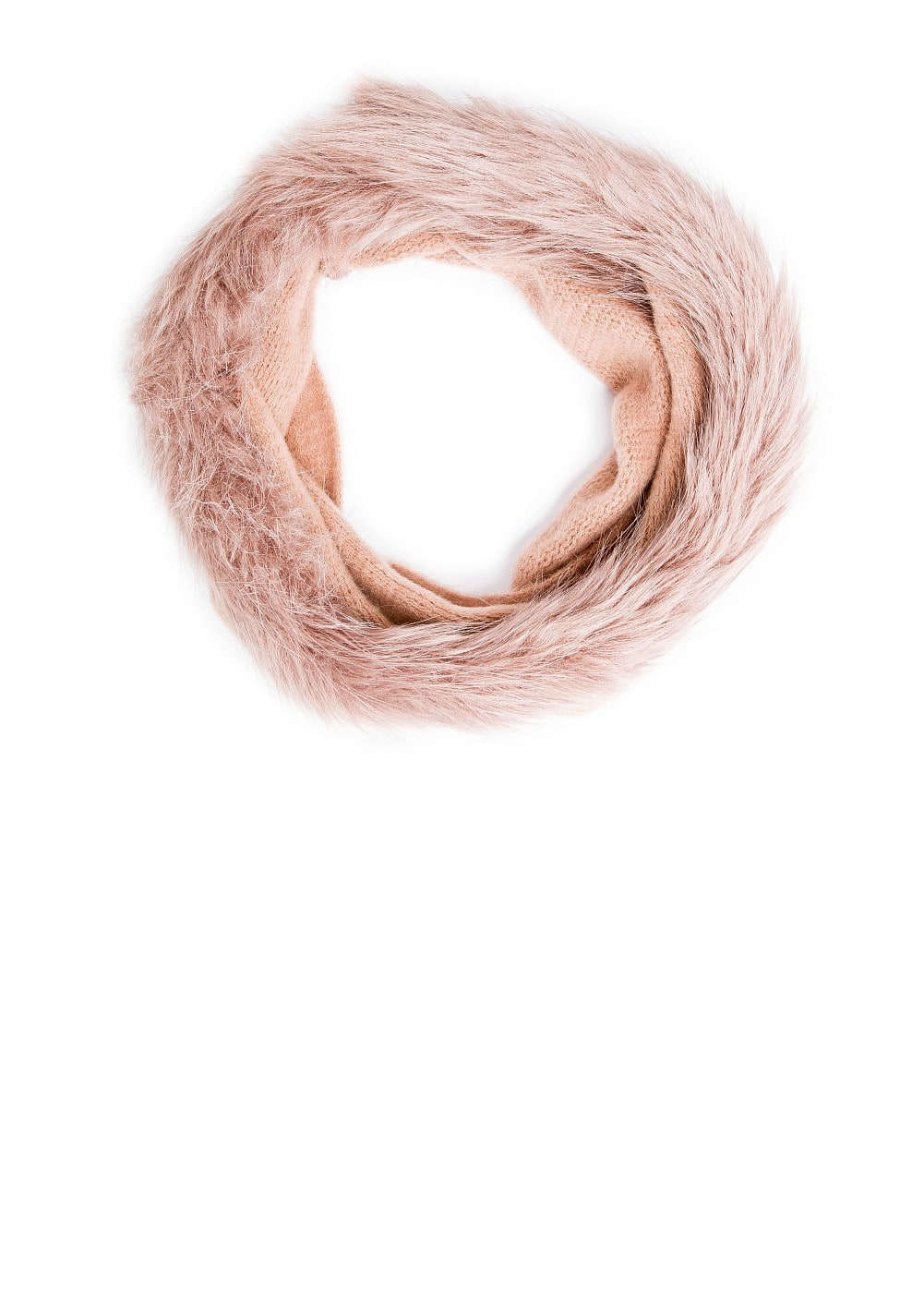 Faux fur edges snood | MANGO