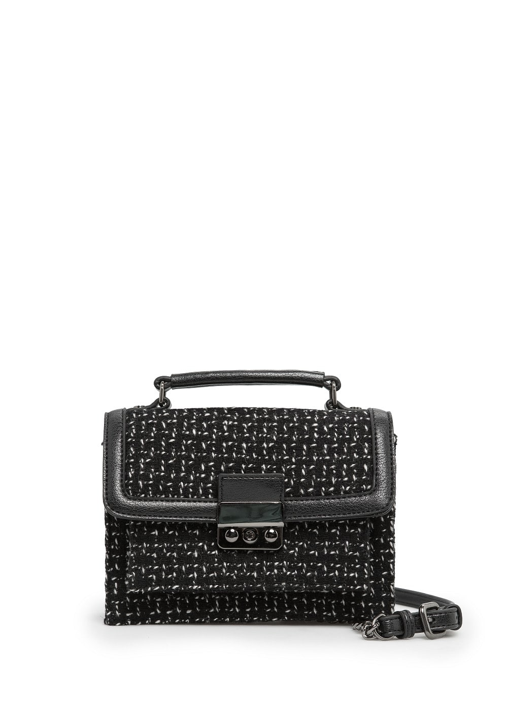 Boucle shoulder bag | MANGO