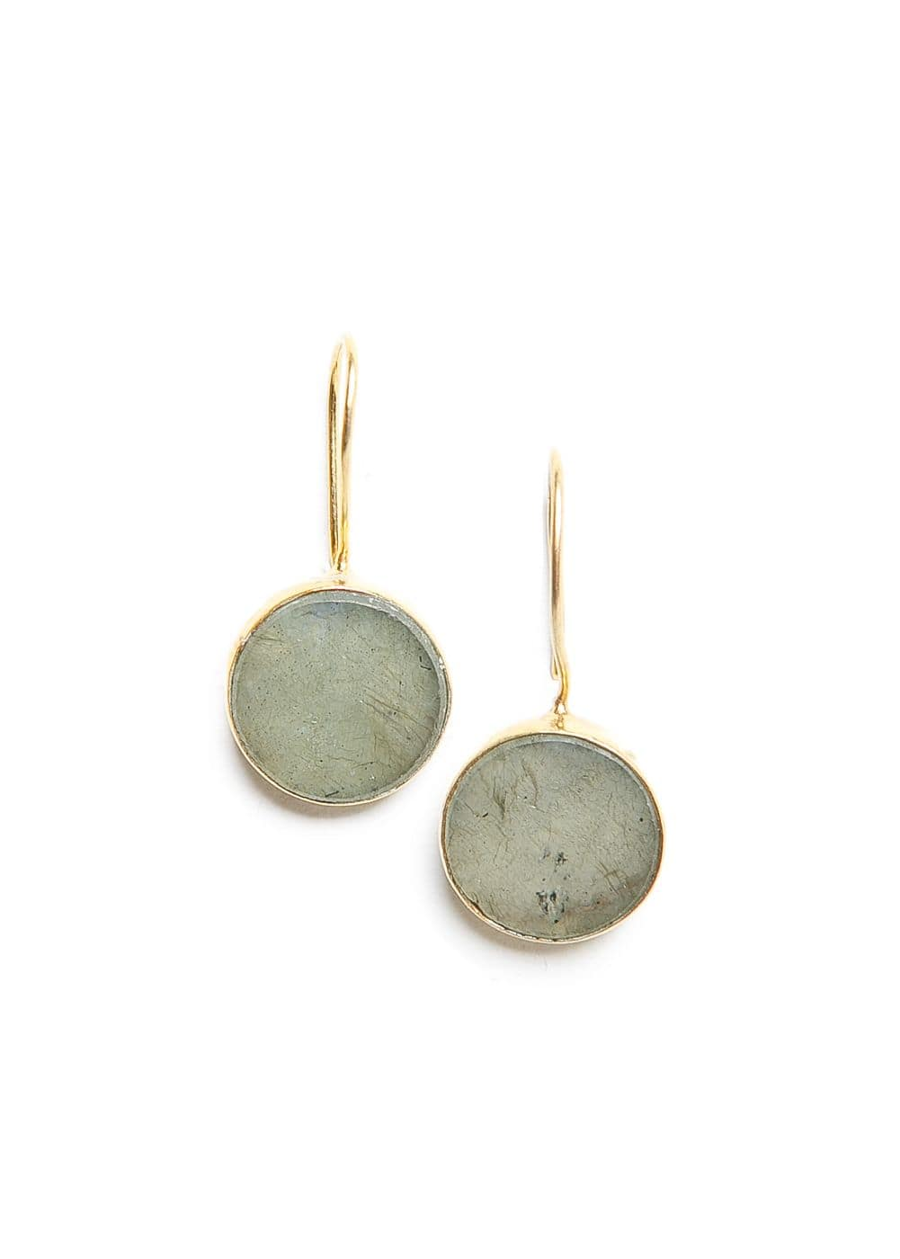 Rounded stone earrings | MANGO