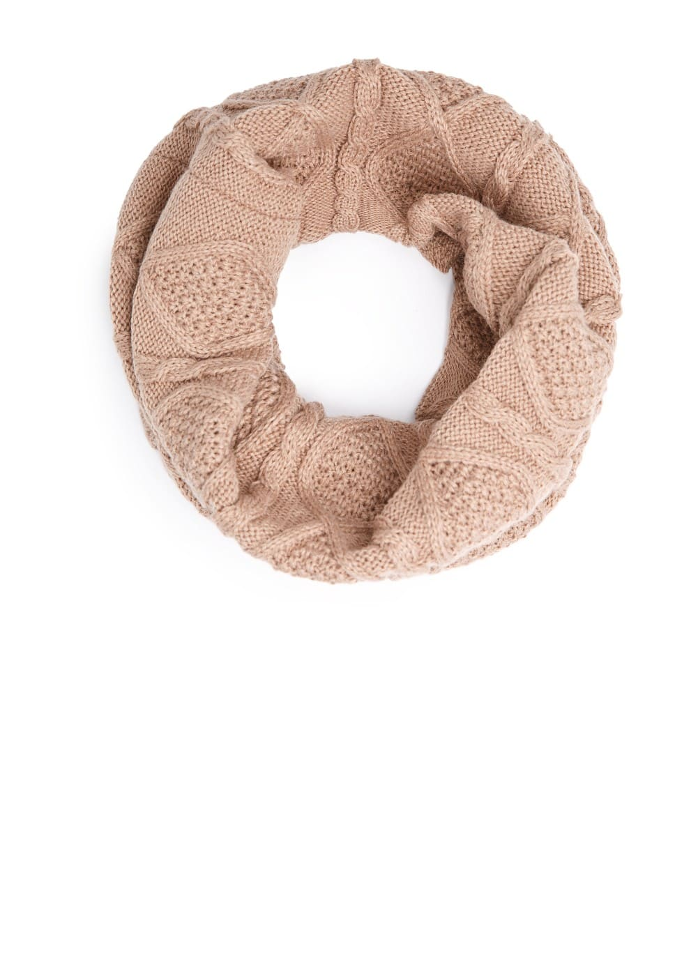 Cable-knit snood | MANGO