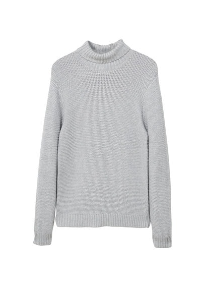 Pull-over col roulé