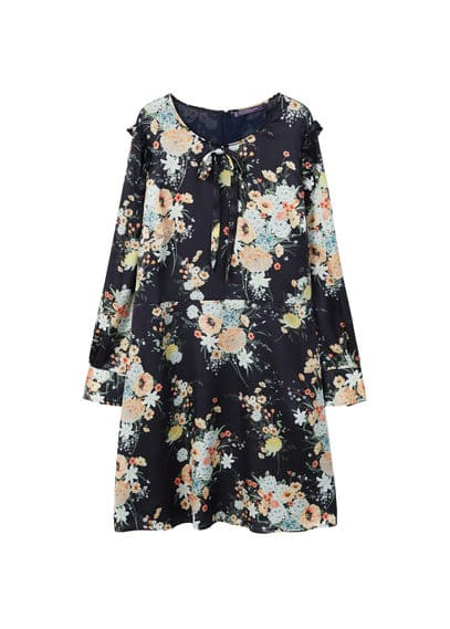 Violeta BY MANGO Floral pattern dress