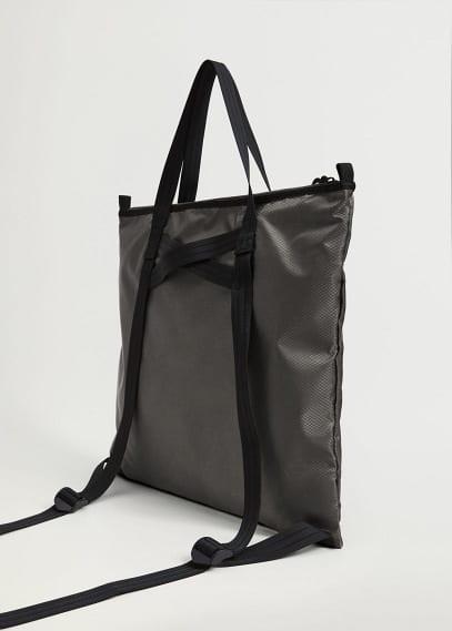Сумка Mango (Манго) Вместительная сумка из нейлона - Tote