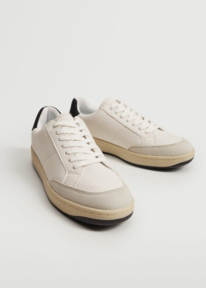Мужские туфли Mango (Манго) Кроссовки ретро  - Fasano