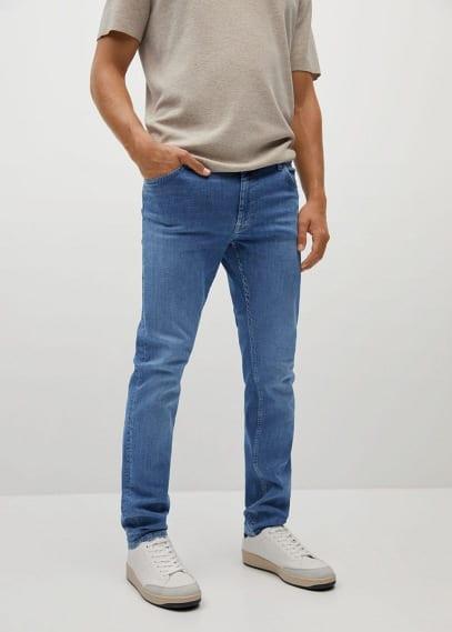 Мужские джинсы Mango (Манго) Джинсы Patrick slim fit Ultra Soft Touch - Patrick