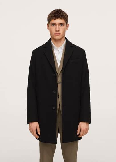 Мужские пальто Mango (Манго) 17005528