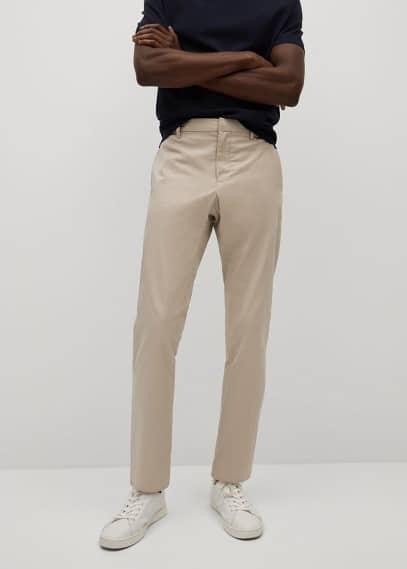 Мужские брюки Mango (Манго) 17010049: изображение 2