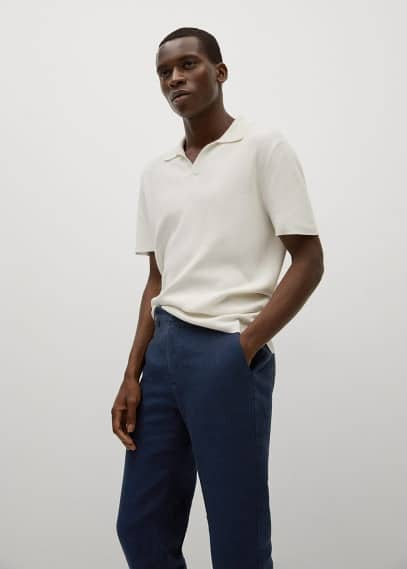 Мужские брюки Mango (Манго) 17010051: изображение 3
